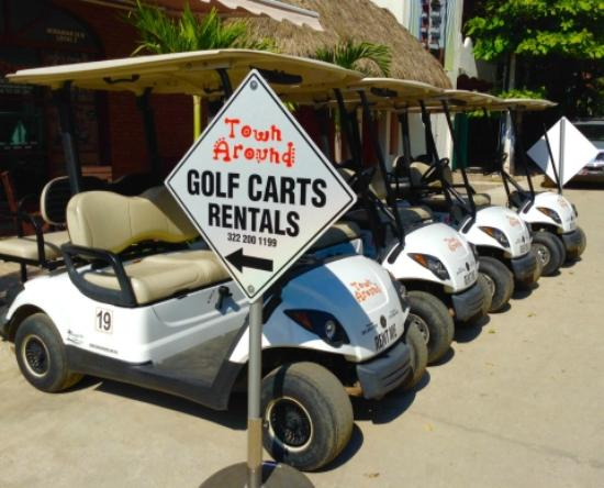 Sayulita Golf Cart Rental in Riviera Nayarit Mexico