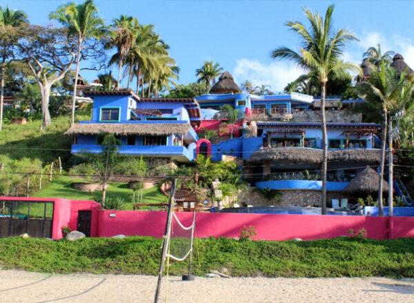 Casa Pata Salada Sayulita Hotels on the Beach