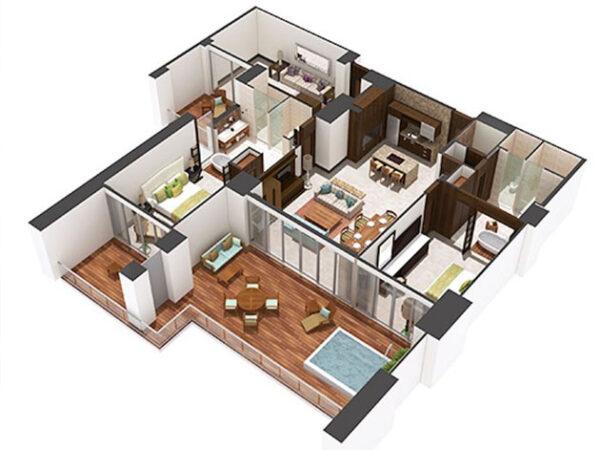 Grand Luxxe Nuevo Vallarta Floor Plan