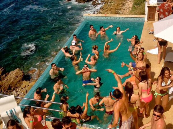 Puerto Vallarta Mexico Pool Party
